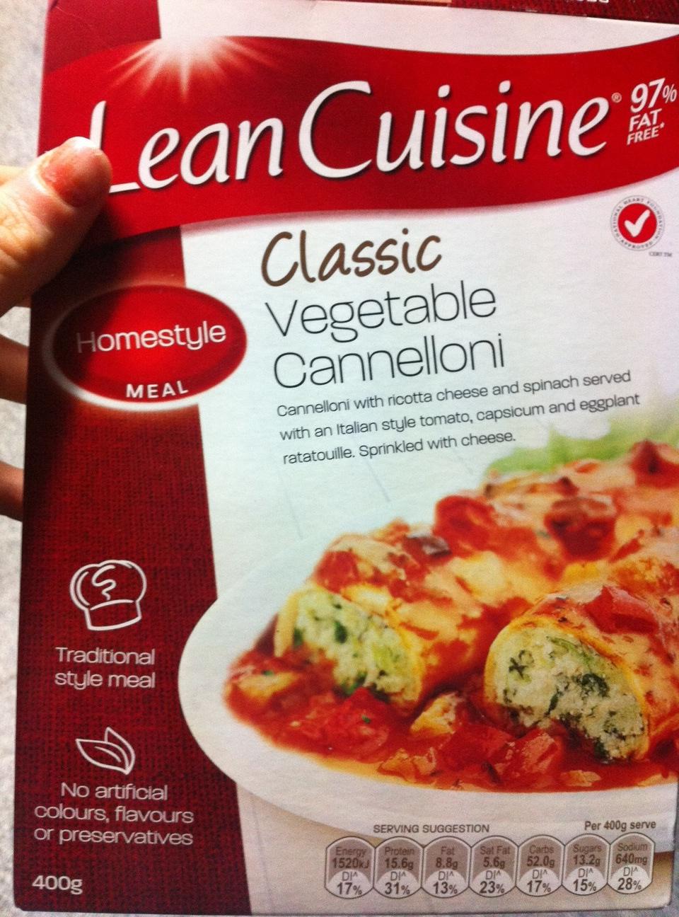 how to prepare frozen cannelloni